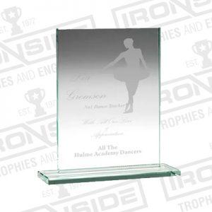 Laser Engraved Glass & Crystal Awards